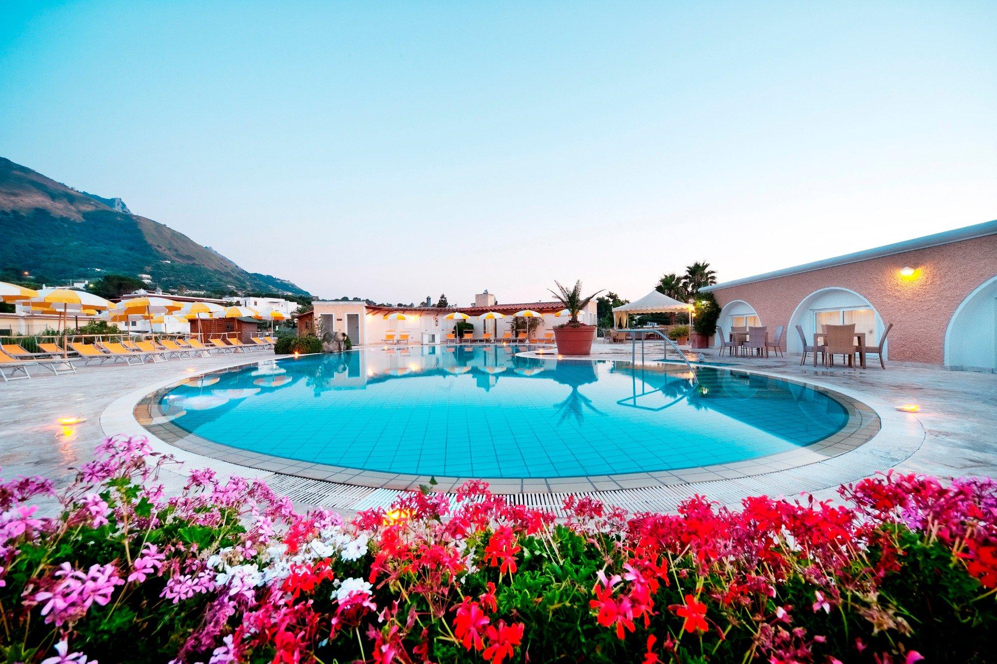 Hotel Parco Delle Agavi Forio piscina 3