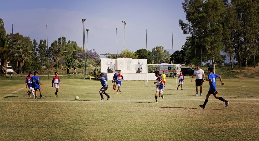 Minerva Club Resort Campo calcio